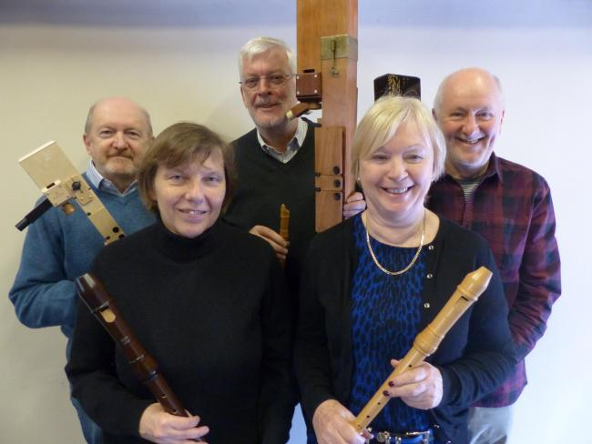 The Galliard Consort who are appearing at Lastingham