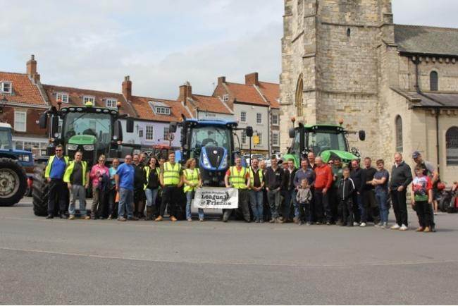 The Jack Cariss Memorial Tractor Run was held last month.