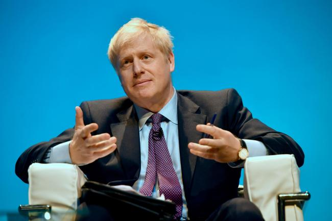 Conservative party leadership candidate Boris Johnson during the first party hustings at the ICC in Birmingham    Picture: Ben Birchall/PA Wire.