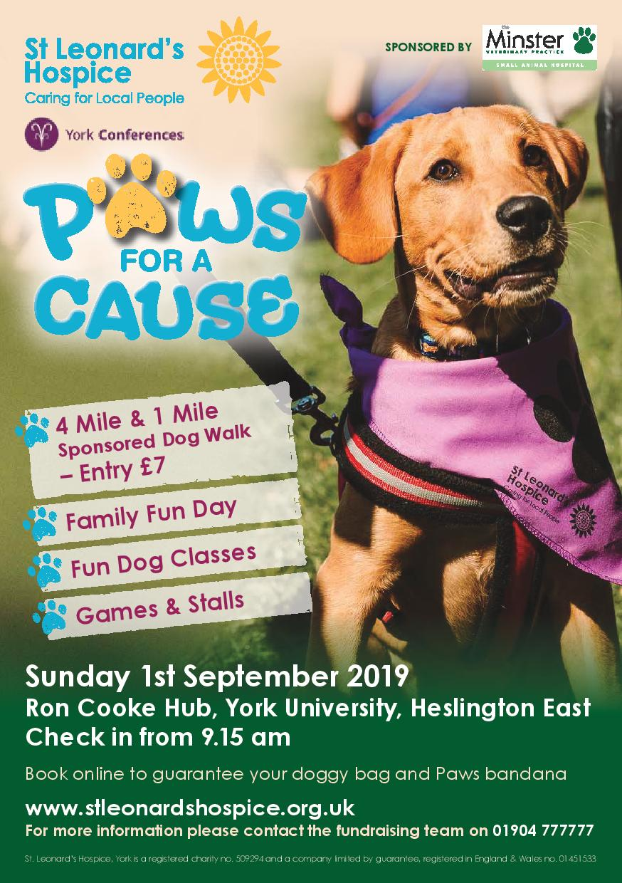 St Leonard's Hospice - Paws For A Cause 2019
