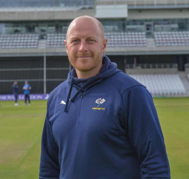 Yorkshire CCC coach Andrew Gale. Picture: Ray Spencer