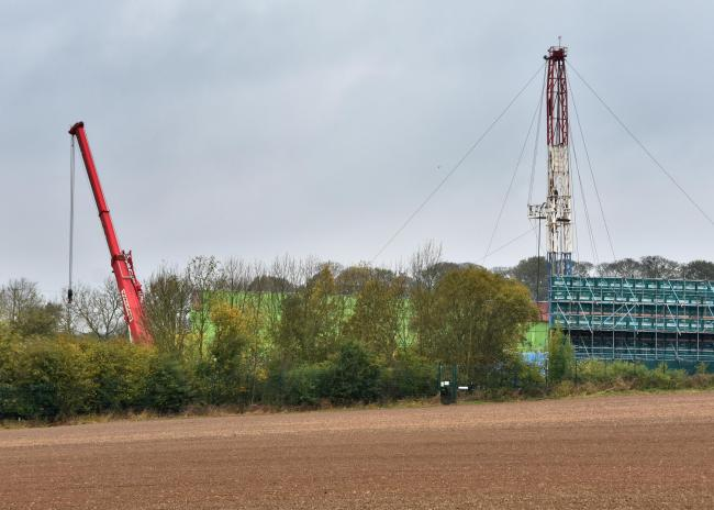 The Kirby Misperton fracking site. Picture David Harrison.