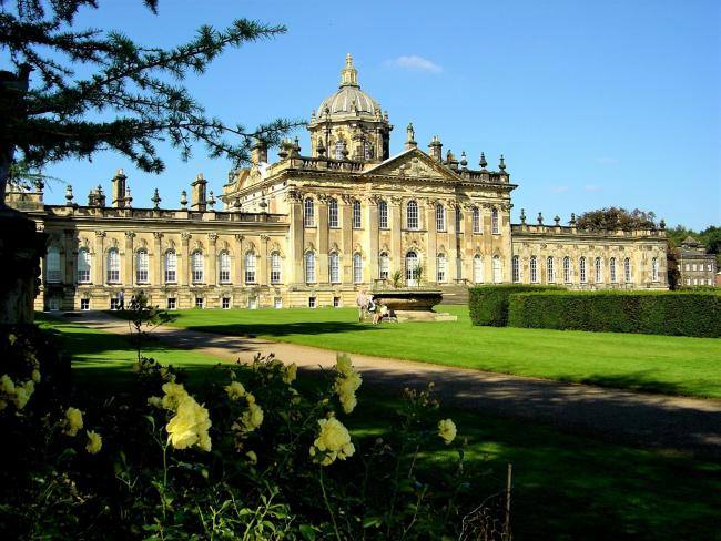 Sunny skies at Castle Howard by Jane Armitage