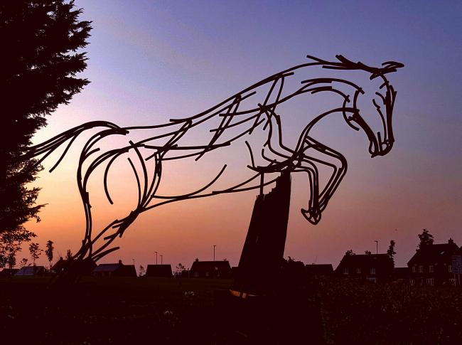 Malton in Bloom's horse on Broughton Road    Picture: Nick Fletcher