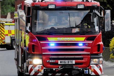 A crew was called to Thixendale on Sunday to a fire which had started in a church organ