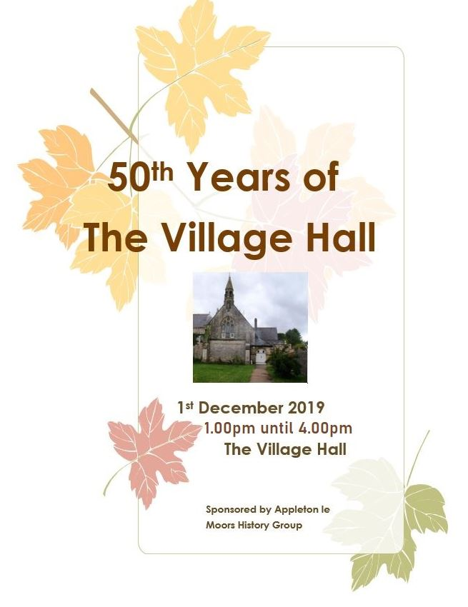 50th Anniversery of the Village Hall