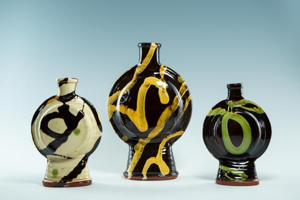 The public have the opportunity to buy a variety of ceramics and pottery pieces