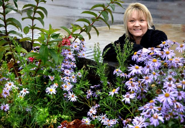 Cllr Lindsay Burr who has been appointed as chairman of Norton in Bloom, which is aiming for success in 2020   Picture: Frank Dwyer