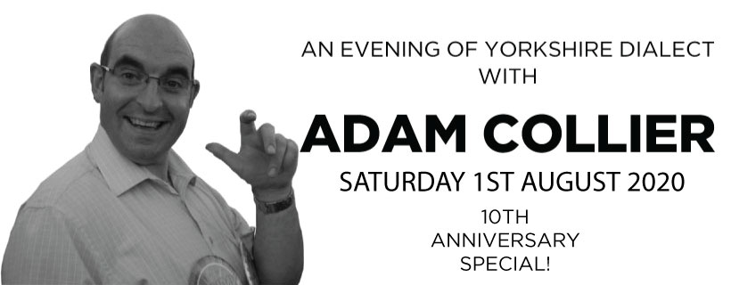 A Night of Yorkshire Dialect with Adam Collier