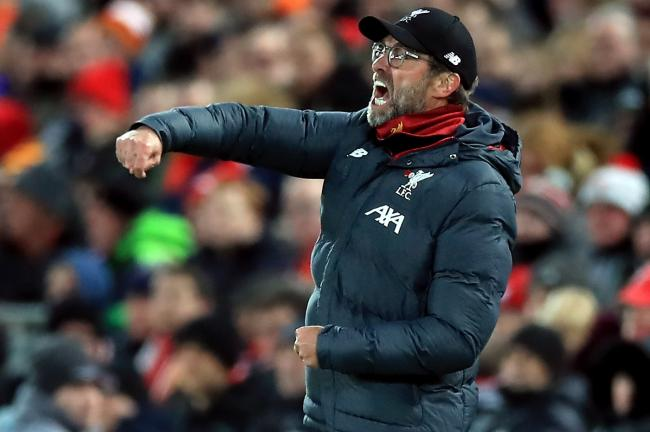 Liverpool manager Jurgen Klopp has overseen a remarkable season for the Reds so far