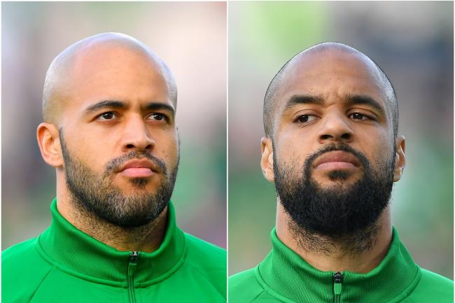 Darren Randolph (left) and David McGoldrick