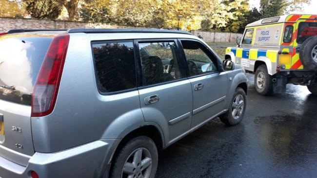 X-Trail seized after poaching reports Picture: North Yorkshire Police
