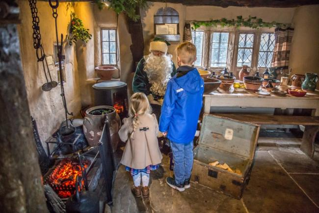 Father Christmas at Ryedale Folk Museum