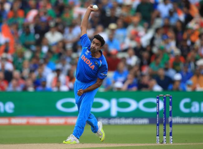 India international Ravi Ashwin, in action during the ICC Champions Trophy, was due to play for Yorkshire in 2020. Picture: Mike Egerton/PA Wire