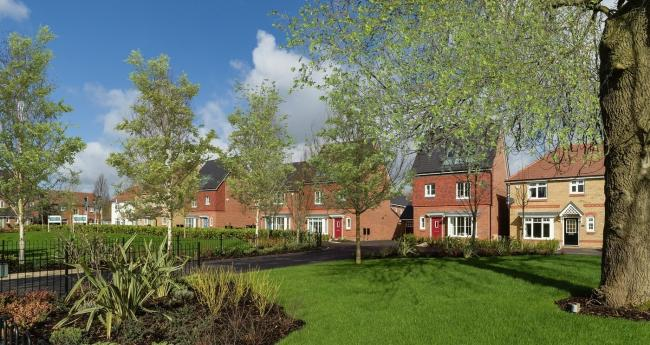 A view of the planned new homes at Manor Woods in Kirkbymoorside