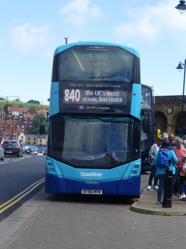 Coastliner is making temporary changes to its bus timetable from Monday