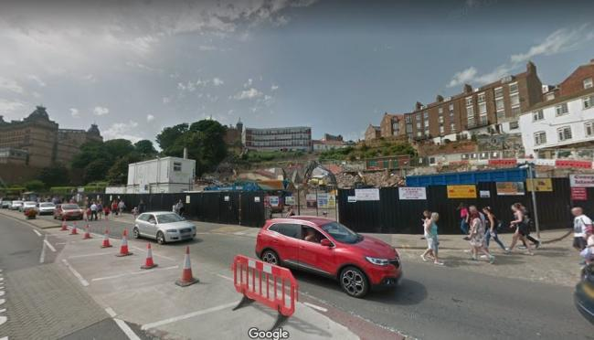 The site of the former Futurist Theatre in Scarborough  Picture: Google Maps/Street View