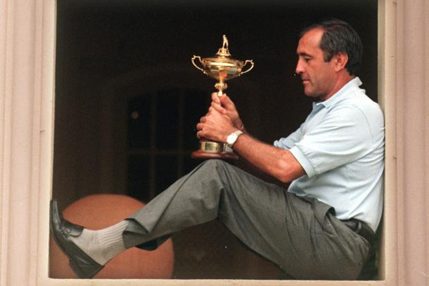 Seve Ballesteros captained Europe to Ryder Cup glory at Valderrama in 1997