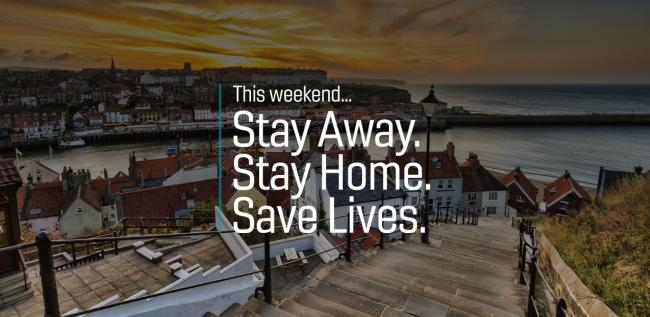Stay away from the Yorkshire Coast this Easter weekend to save live