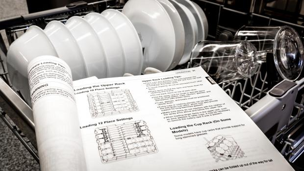 Gazette & Herald: Find your dishwasher's user manual, and use it. Yeah, it's not a compelling read, but it will show you the best ways to load. And if anything ever goes wrong, the manual will help you troubleshoot. Credit: Reviewed / Jonathan Chan