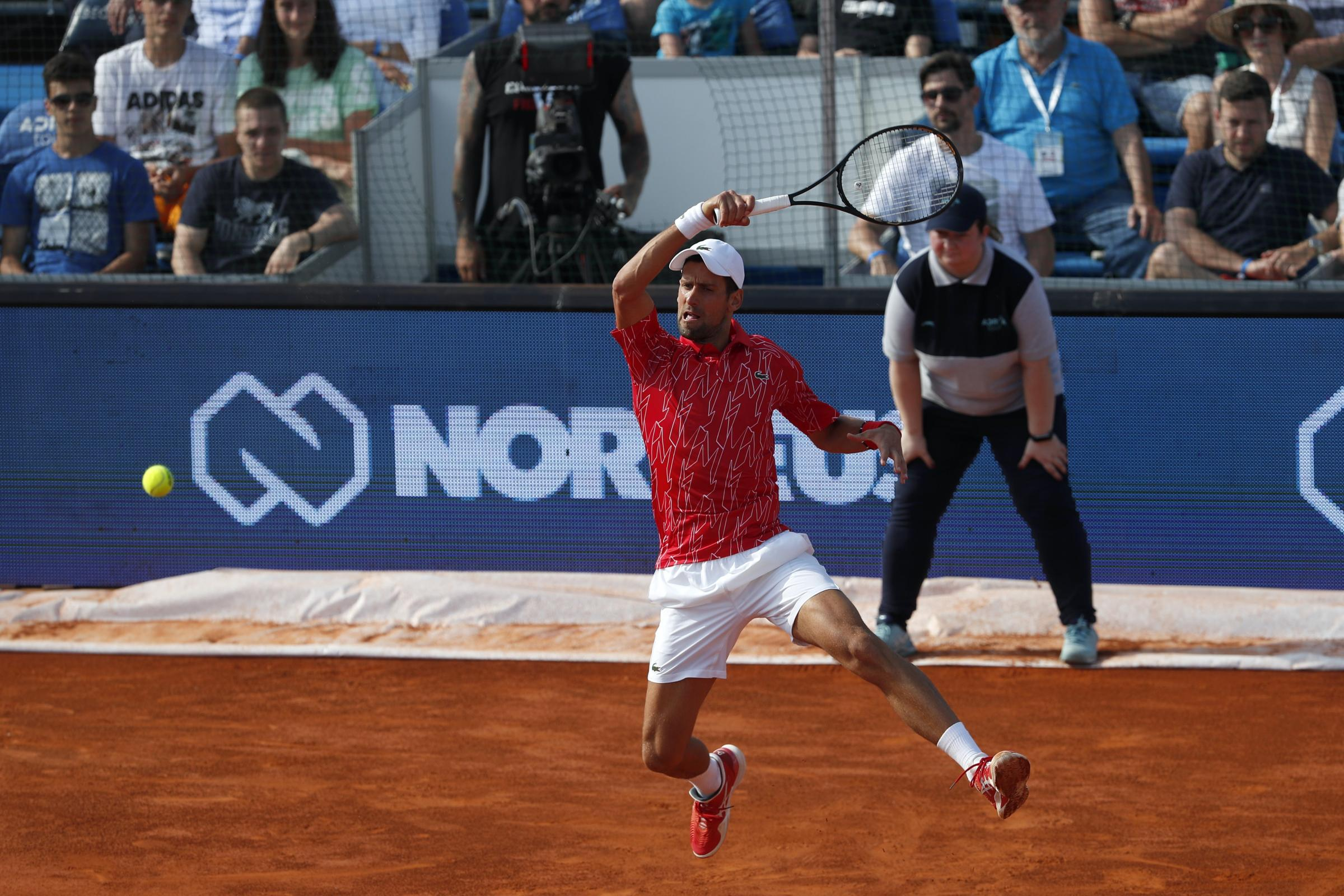 Novak Djokovic Makes Winning Return At Adria Tour In Belgrade Gazette Herald