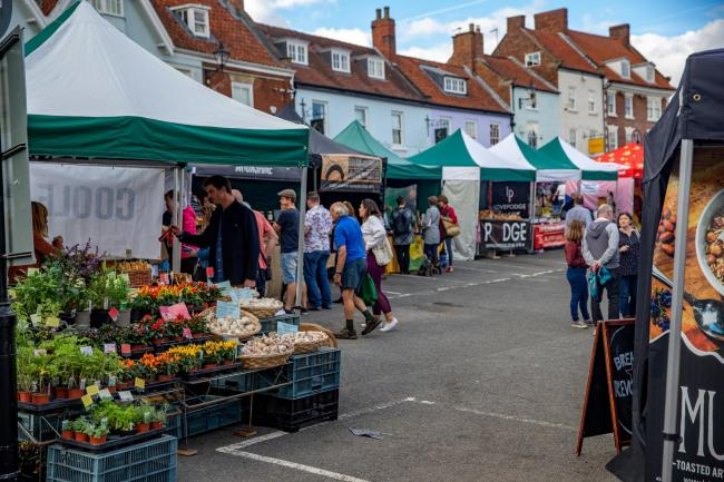 Malton's monthly food market returns this Saturday