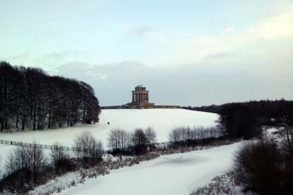 Castle Howard in the snow. Picture by Steve Savage