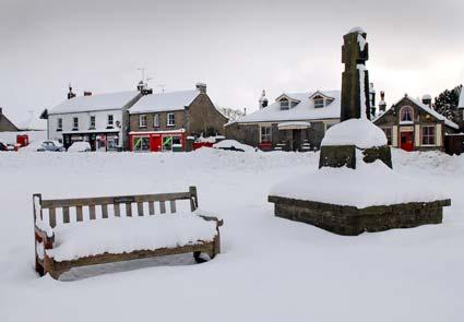 Goathland in the snow.