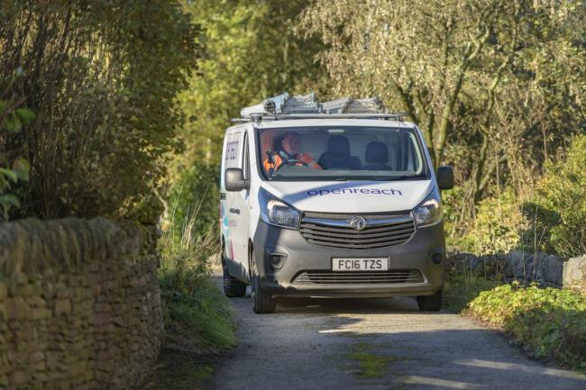 Openreach is providing full-fibre broadband in Ryedale