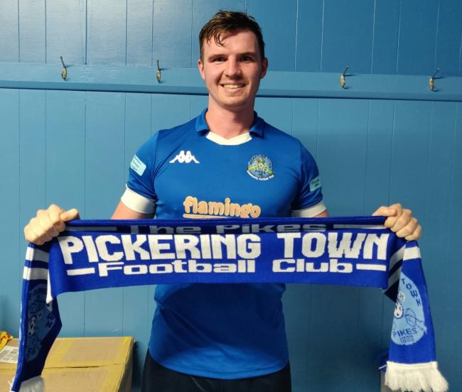 New Pickering Town signing Ben Clappison. Picture: Pickering Town