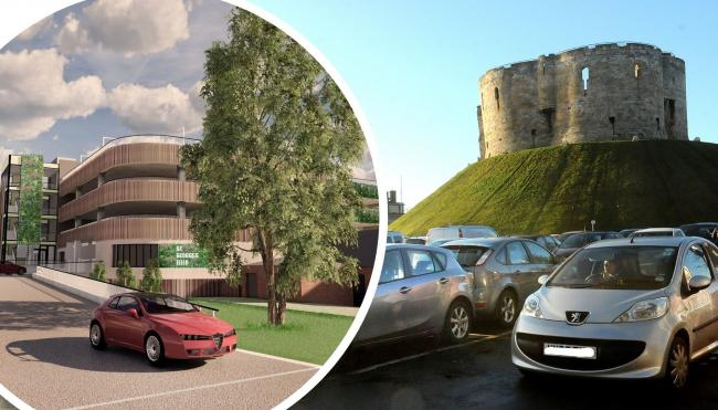 City of York Council is looking at whether to close Castle Car Park to turn it into a major event space by 2022