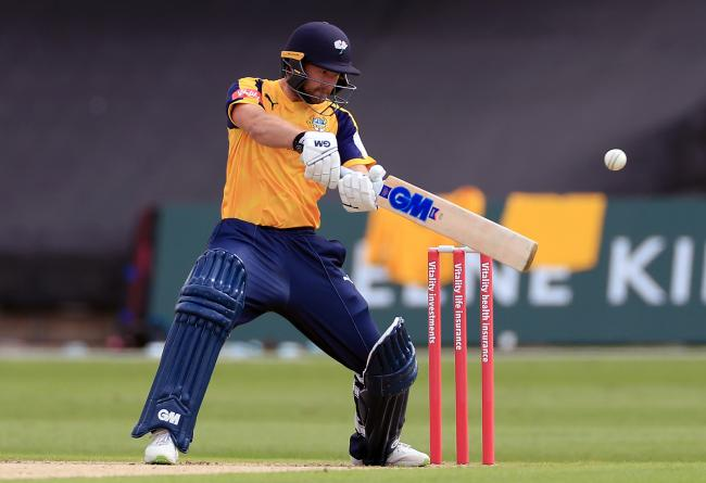 Yorkshire batsman Adam Lyth in action against Notts Outlaws. Picture: Mike Egerton/PA Wire