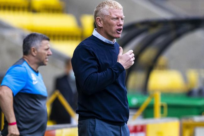 Livingston boss Gary Holt defendd loan keeper Robby McCrorie over a blunder against Kilmarnock.