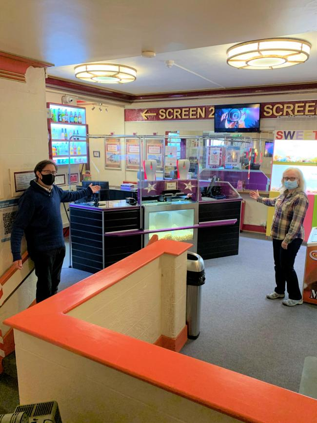 The Palace Cinema, in Malton, officially re-opened on October 2 following months of closure since the beginning on lockdown in March