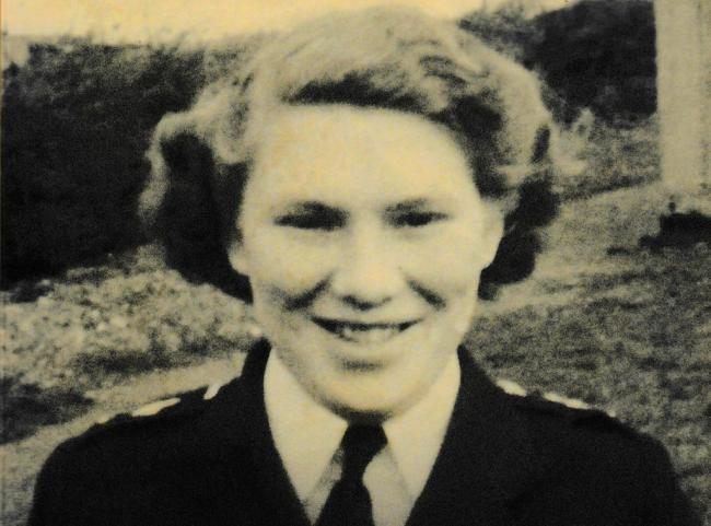 Retired policewoman Phyllis Sigsworth