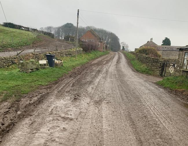 Farmers and drivers of construction vehicles are being urged to think responsibly about keeping the roads clear of mud   Picture: NYCC