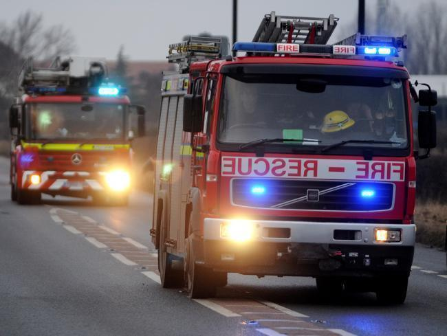 Homes left without power after pylon fire