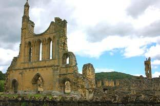 Gazette & Herald: Byland Abbey where the monks lived in the 12th century. Pictures: Brian Beadle