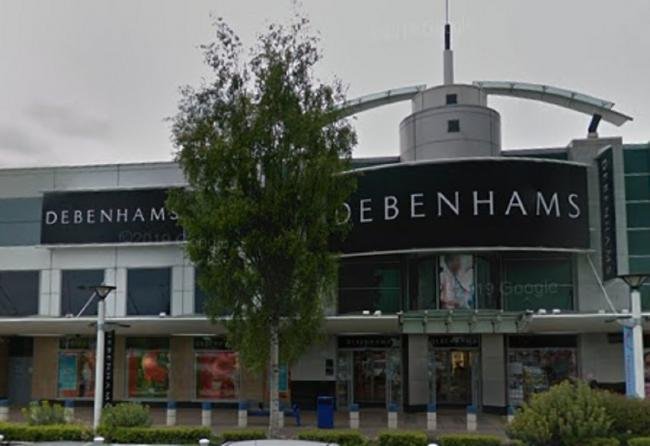 Debenhams in Monks Cross York