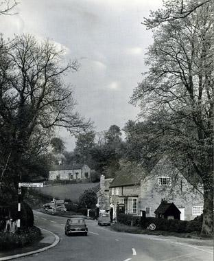 The village of Brandsby in the 1960s.