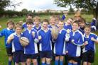 Ryedale School's Year 7 rugby union team