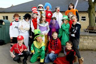Red Nose Day at Terrington Hall School.