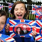 Children from Luttons Primary School  get ready for their Royal Wedding street party