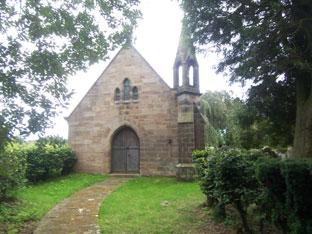 The 19th century Mortuary Chapel at Egton