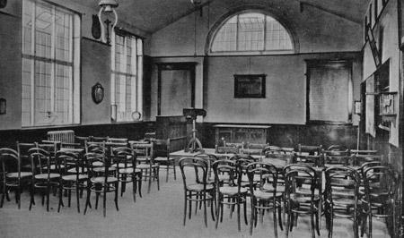 A classroom at Malton Grammar School.