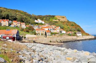 Gazette & Herald: The start of the ride is from Runswick Bay with its impossible clutter of houses.