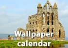 Gazette & Herald: Wallpaper calendar