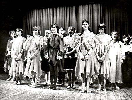Malton School production from the 1980s - Evacuees.