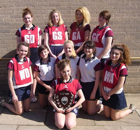 Ryedale School's Year 10 netball winners