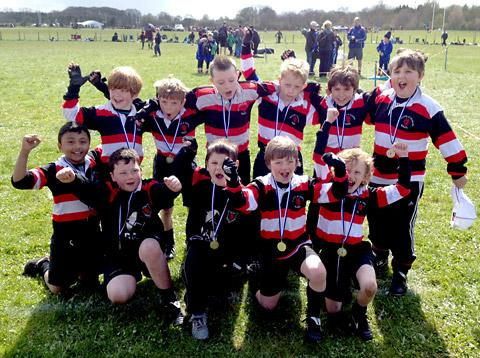 Malton & Norton U8s at the Driffield festival.